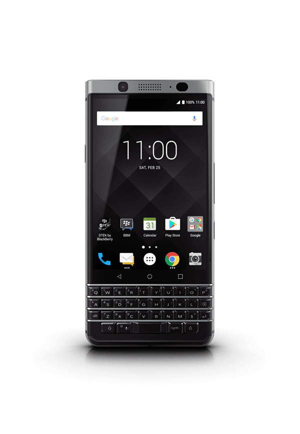 packshot keyone - BlackBerry KEYone