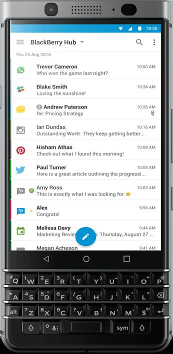 bb hub - Android