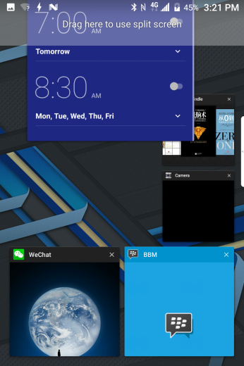 How can I use split screen | BlackBerry Mobile - Official