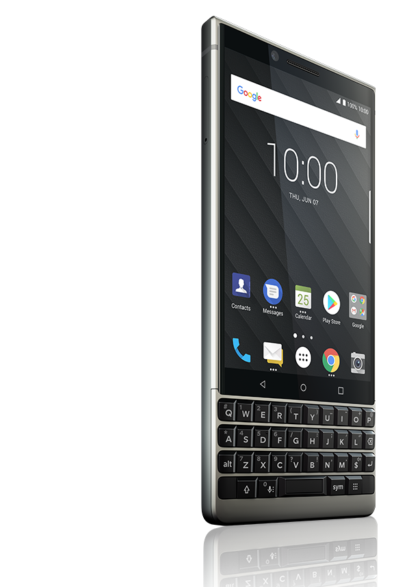 phone right1 new - BlackBerry KEY2