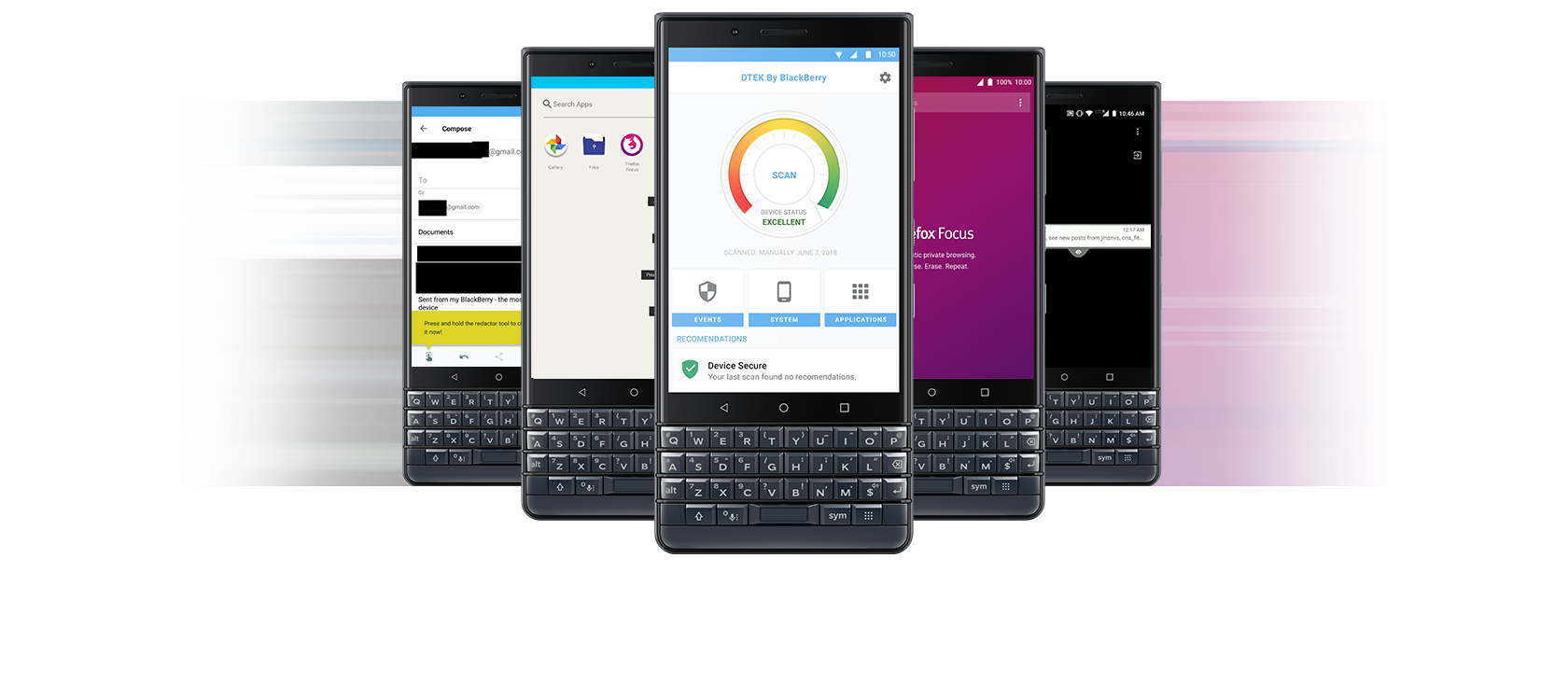Blackberry Key 2 LE Ultimate Privacy