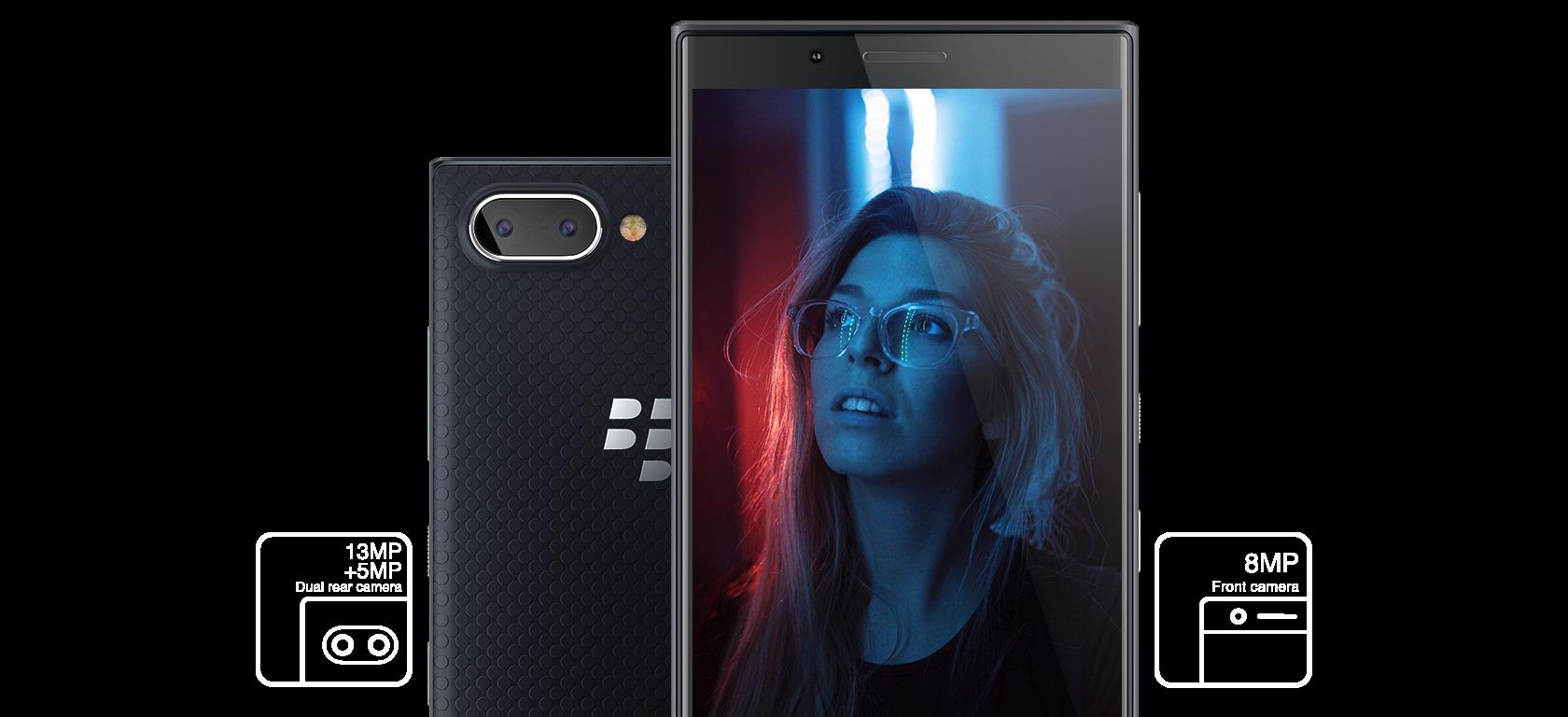 Dual Camera on Blackberry Key 2 LE