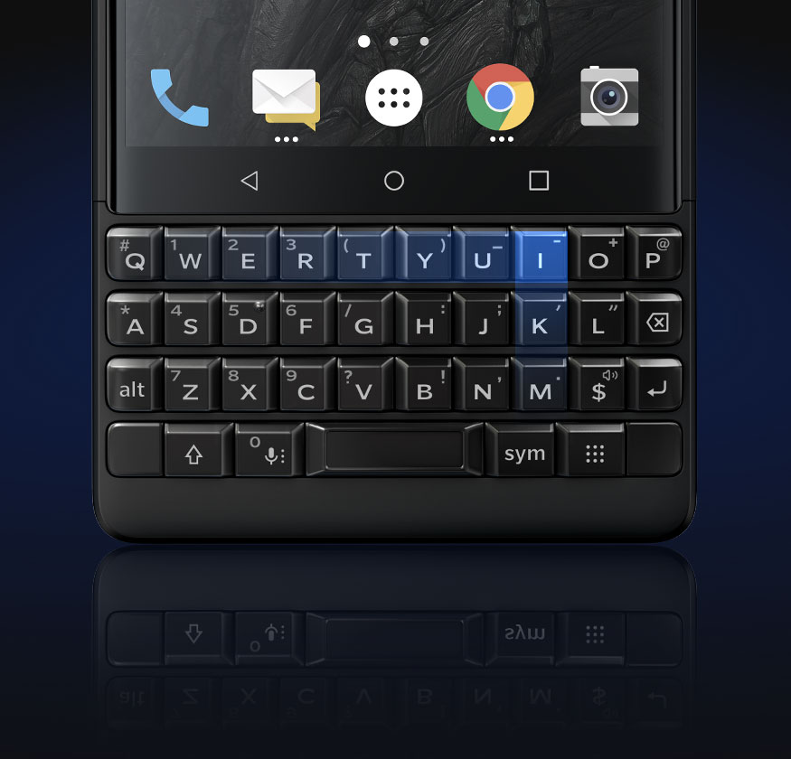keypad - BlackBerry KEY2