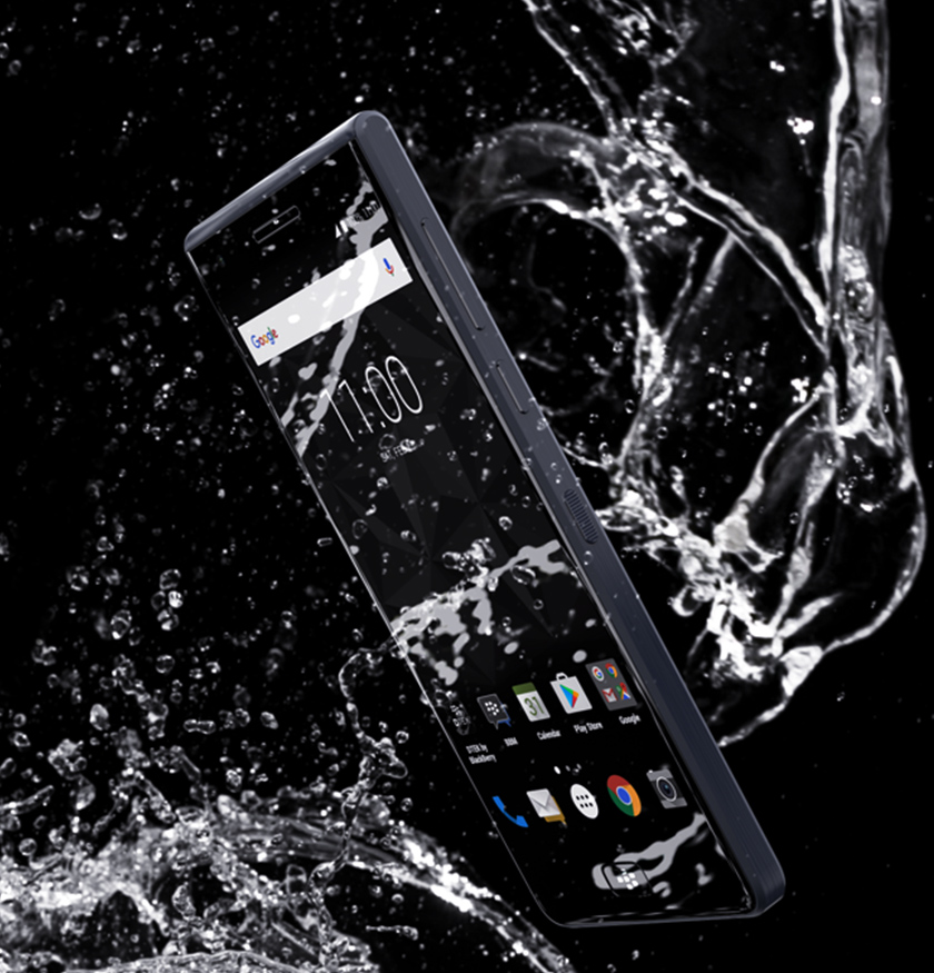 BlackBerry MOTION - résistant à l'eau