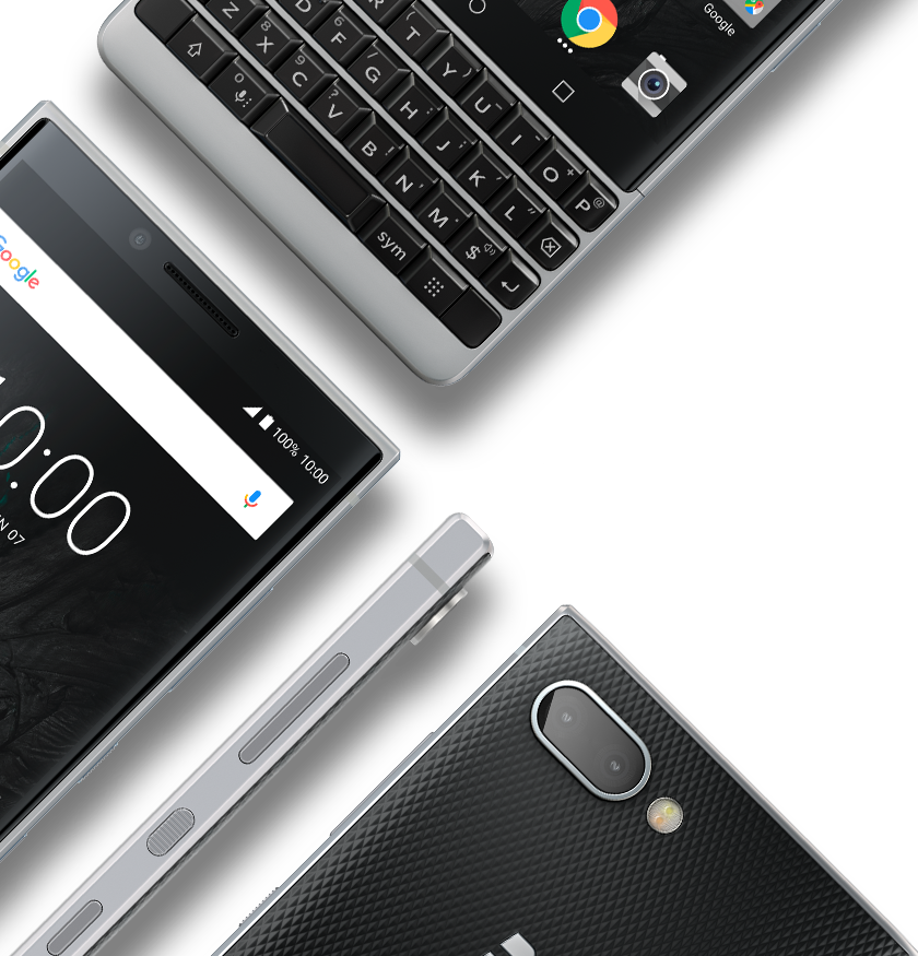 iconic design mobile1 - BlackBerry KEY2