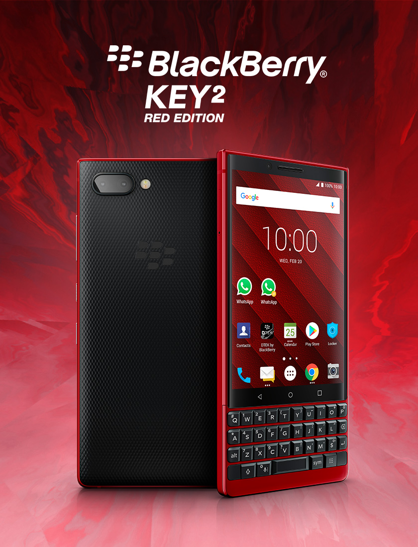 Blackberry KEY2 RED HERO buy now - BlackBerry KEY2