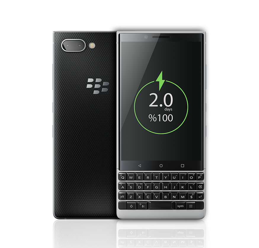charge less1 - BlackBerry KEY2