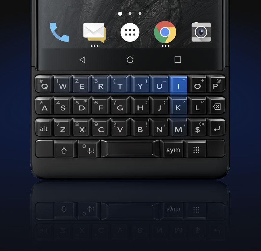keypad - BlackBerry KEY2