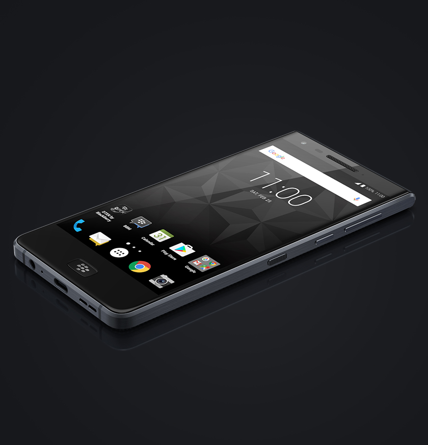 BlackBerry MOTION - anti-scratch screen