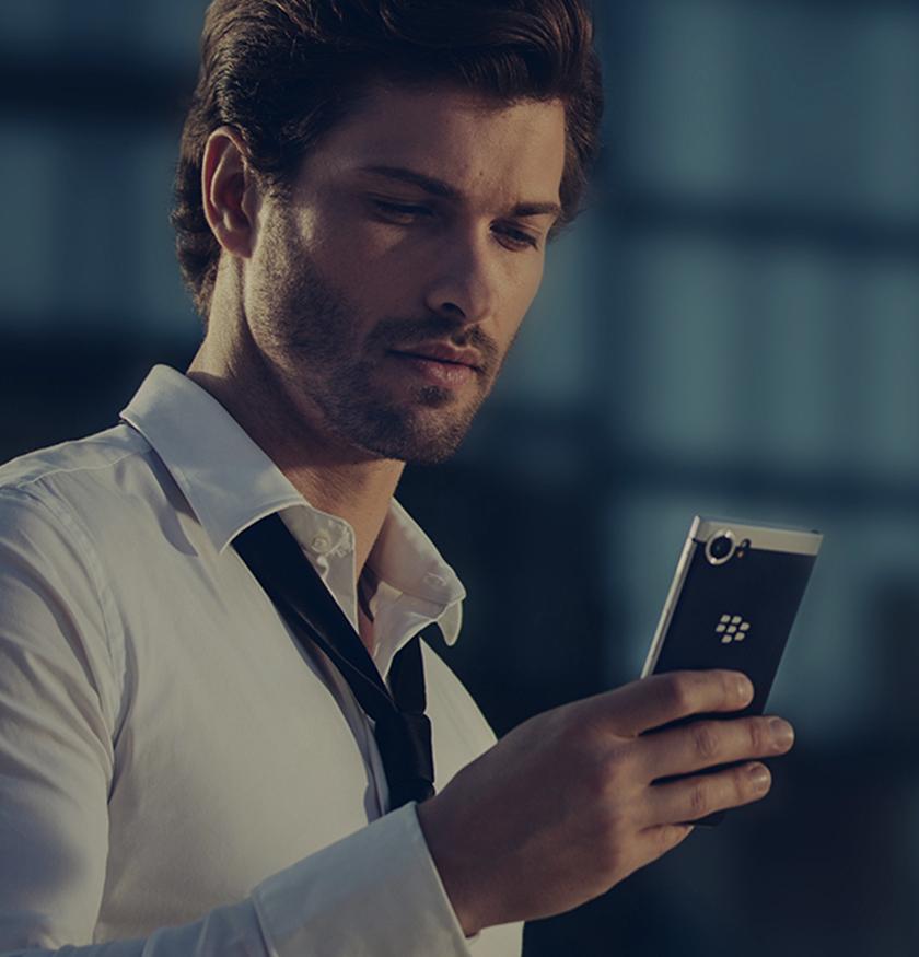 BlackBerry KEYone - unstoppable