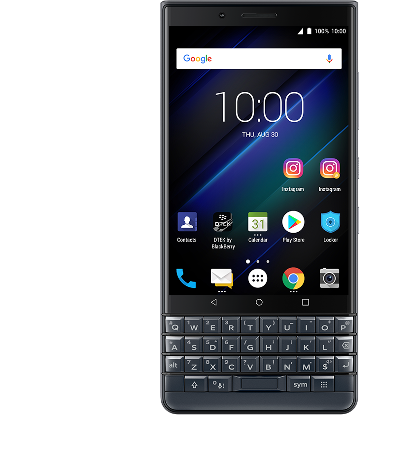 dual accounts1 - BlackBerry KEY2 LE
