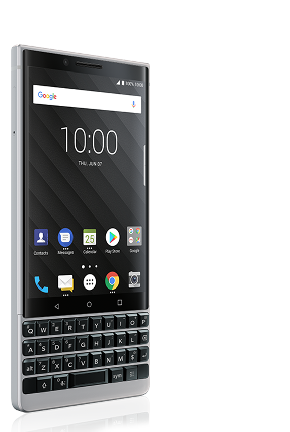 key 2 red back view - BlackBerry KEY2