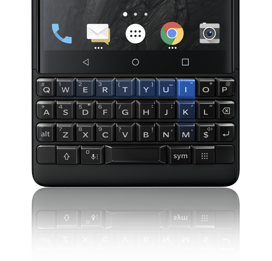 newkeyboard1 - BlackBerry KEY2