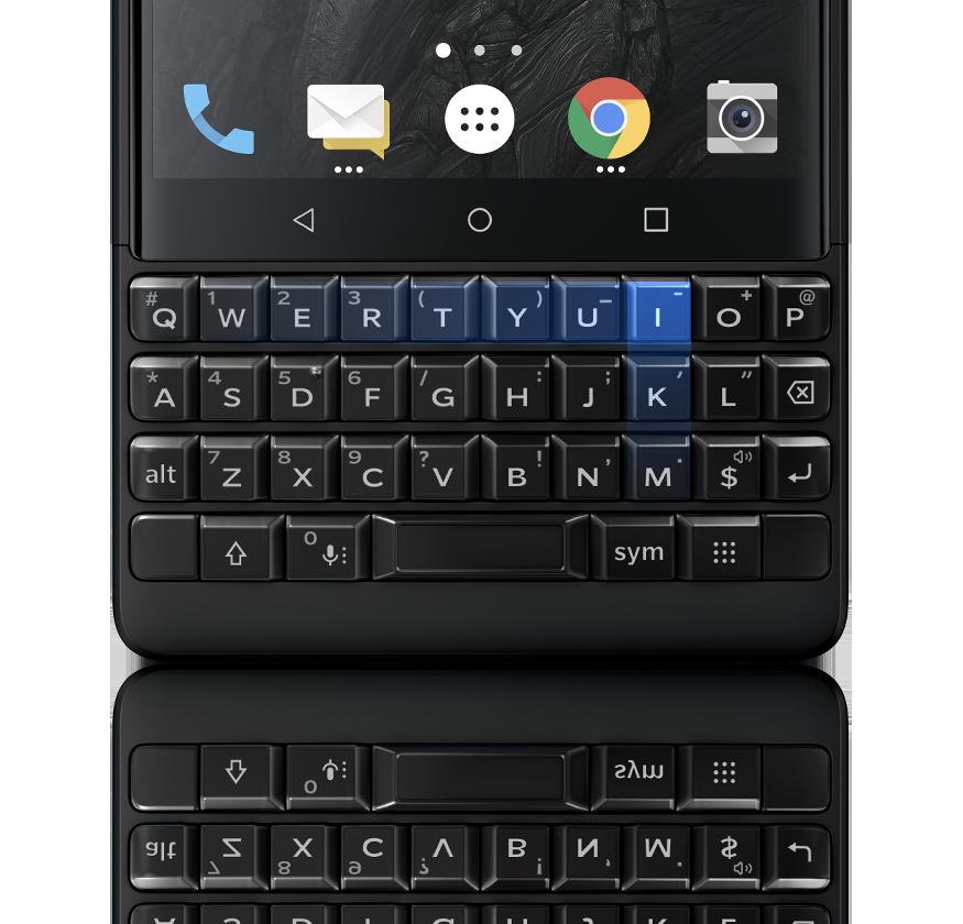 newkeyboard1 - BlackBerry KEY2