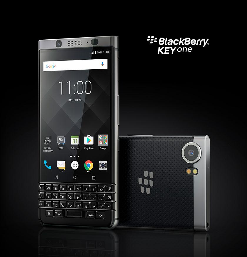 Keyone Silver - BlackBerry KEYone