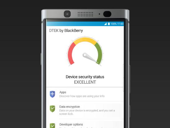 dtek by blackberry - الاعمال