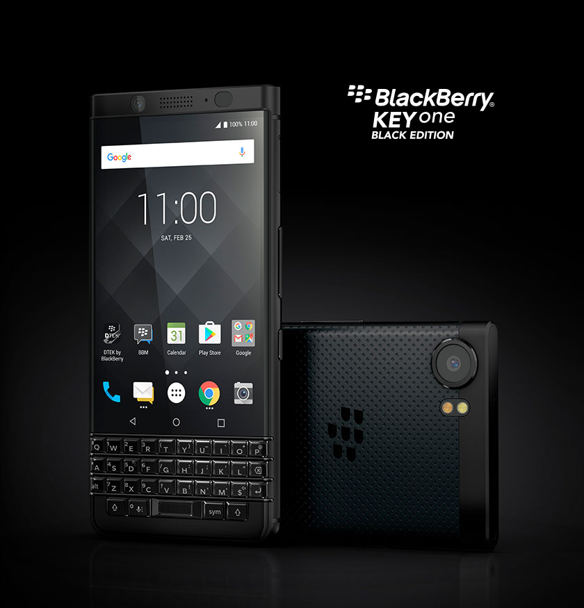 keyone black - BlackBerry KEYone