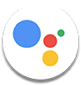 Google Assistant logo - BlackBerry KEY 2 LE