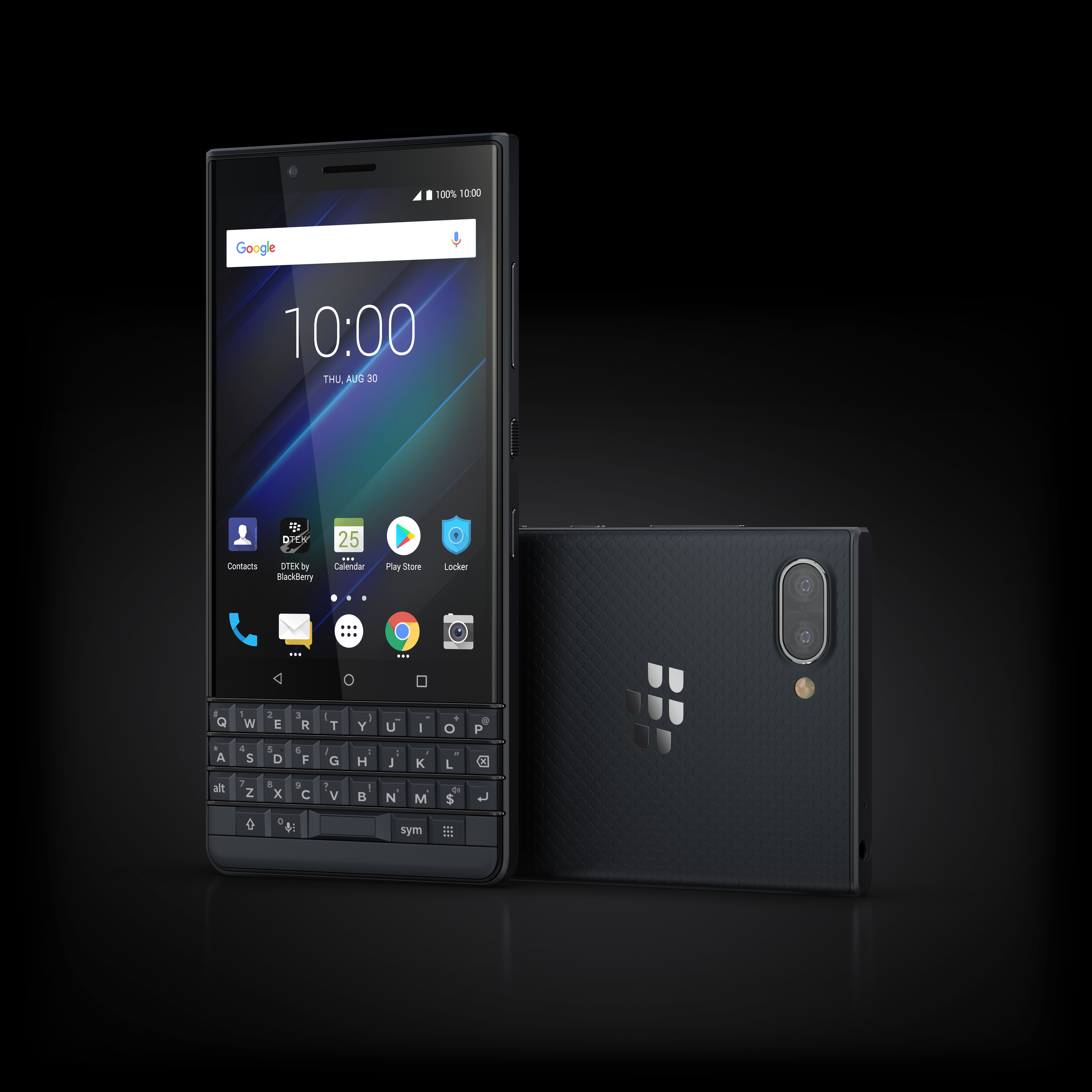 10 Luna Slate Stylized - BlackBerry KEY 2 LE