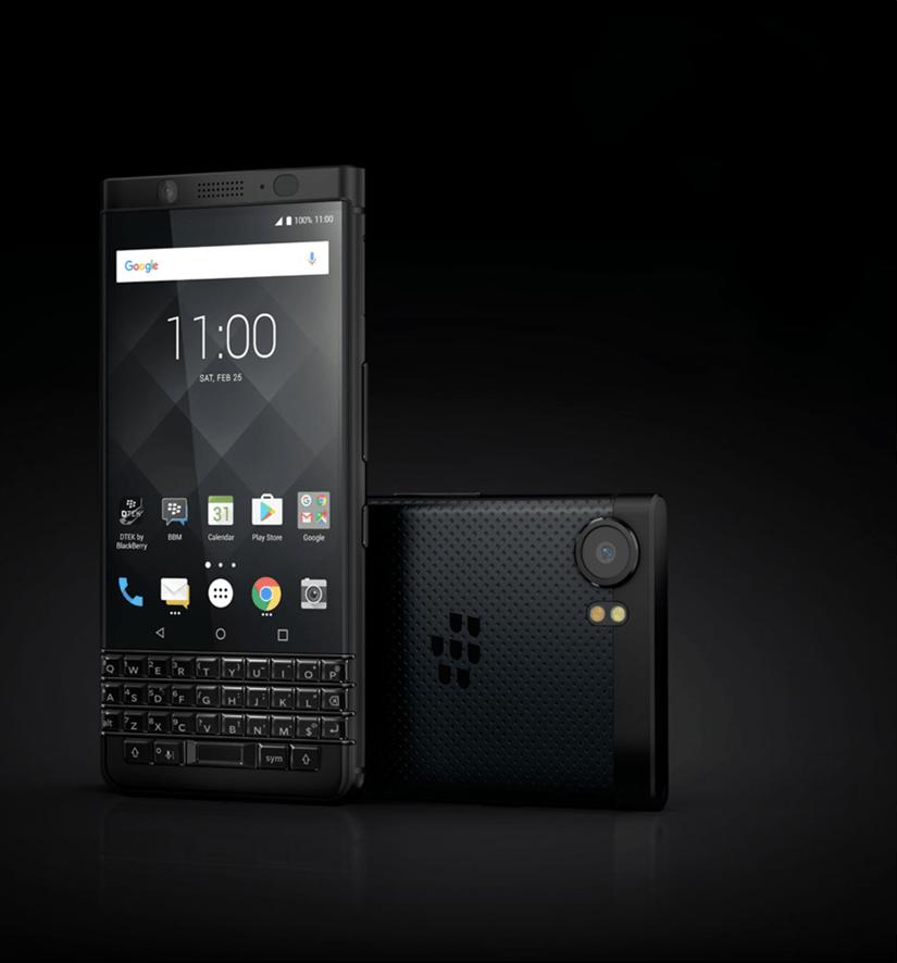 get your blackberry black - BlackBerry KEYone