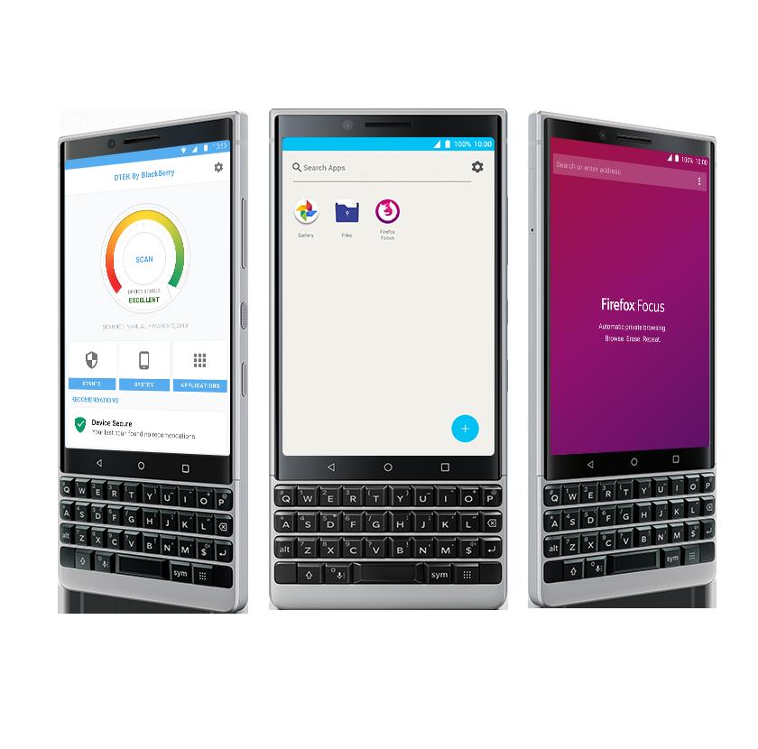 BlackBerry KEY2 DTEK Security