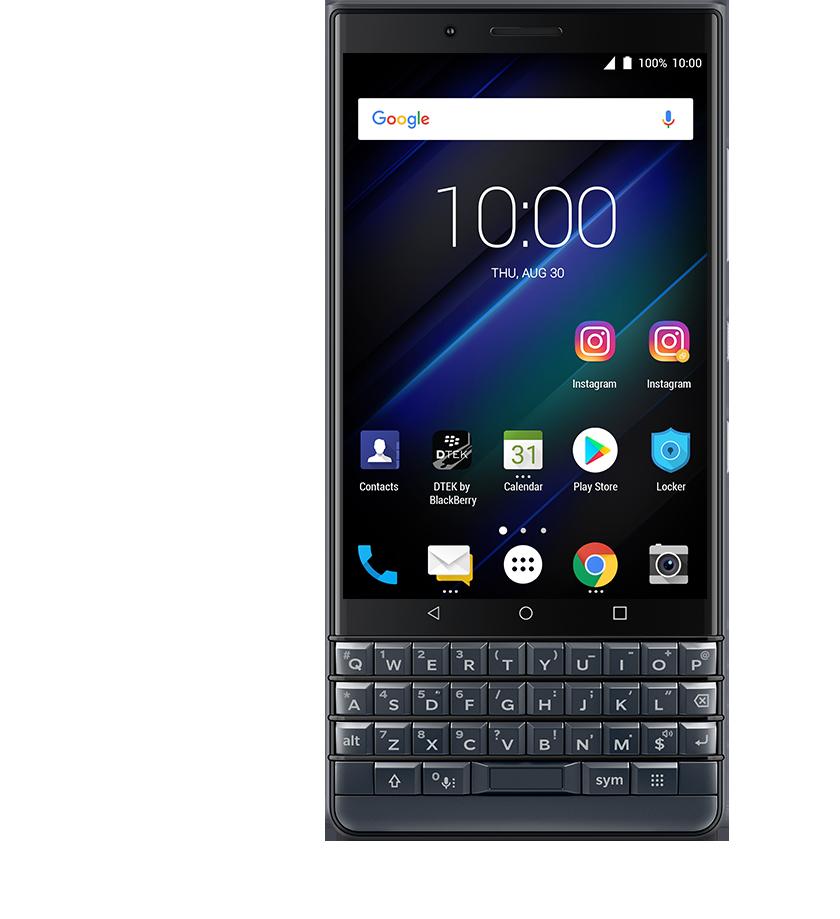 dual accounts - BlackBerry KEY2 LE
