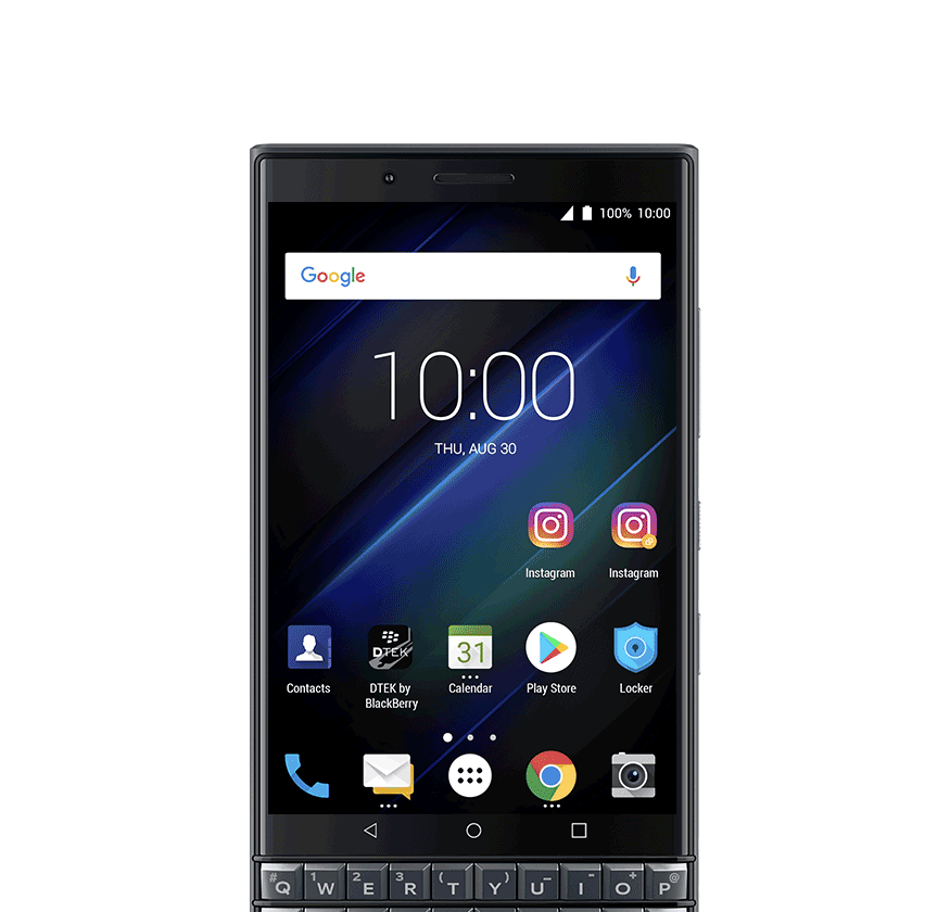 dual account - BlackBerry KEY2 LE