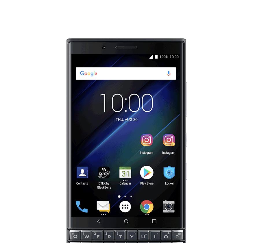 dual account - BlackBerry KEY2 LE