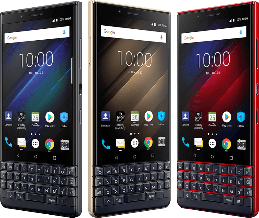 KEY2 LE Colors - BlackBerry KEY2 LE