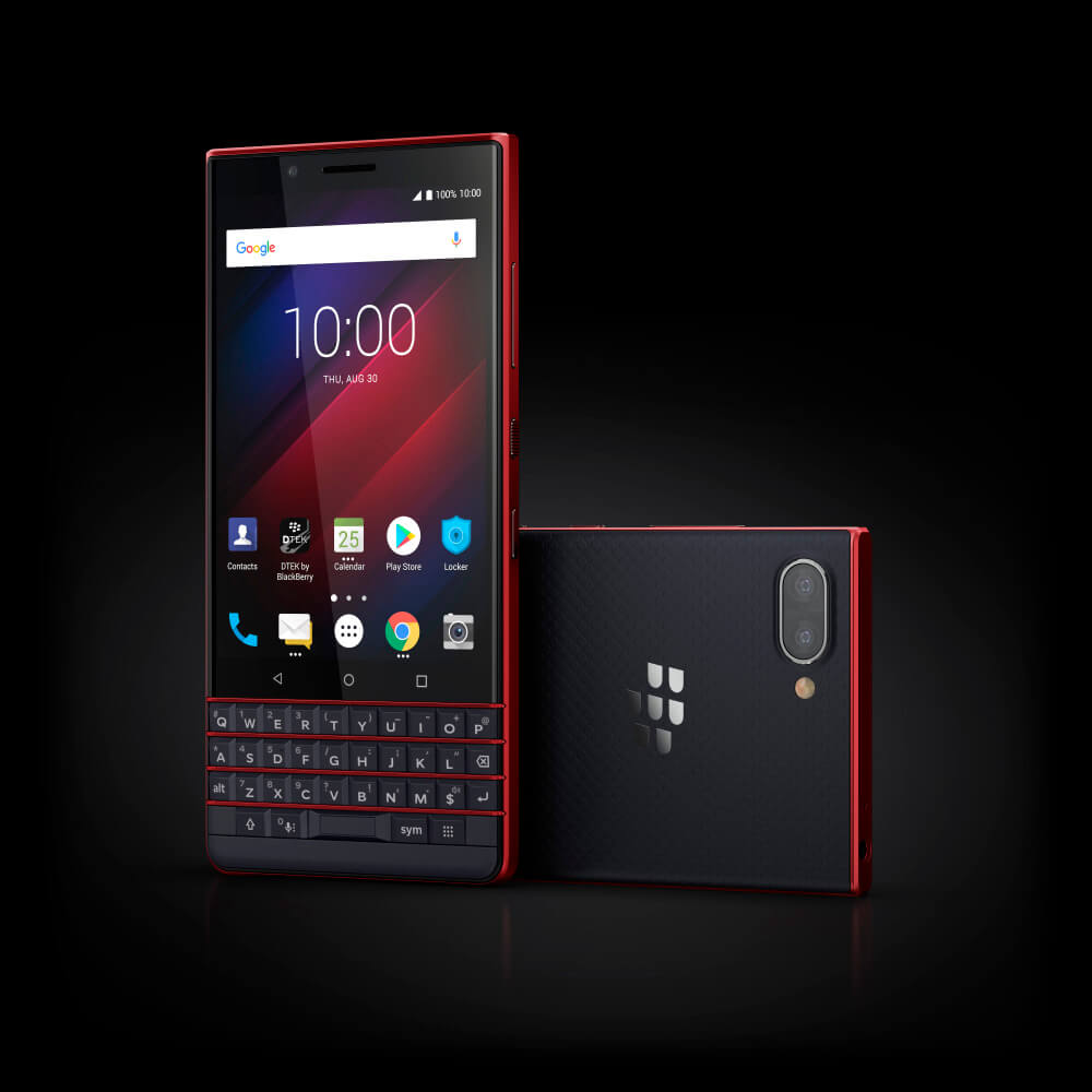 10 Luna Atomic Stylized - BlackBerry KEY2 LE