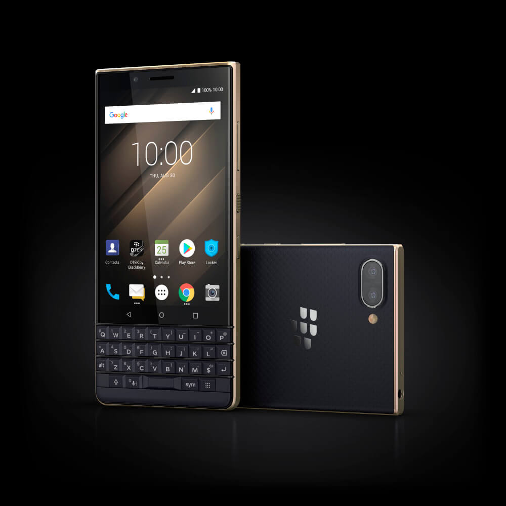 10 Luna Champaign Stylized - BlackBerry KEY2 LE