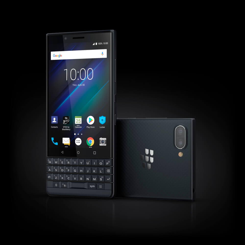 10 Luna Slate Stylized - BlackBerry KEY2 LE