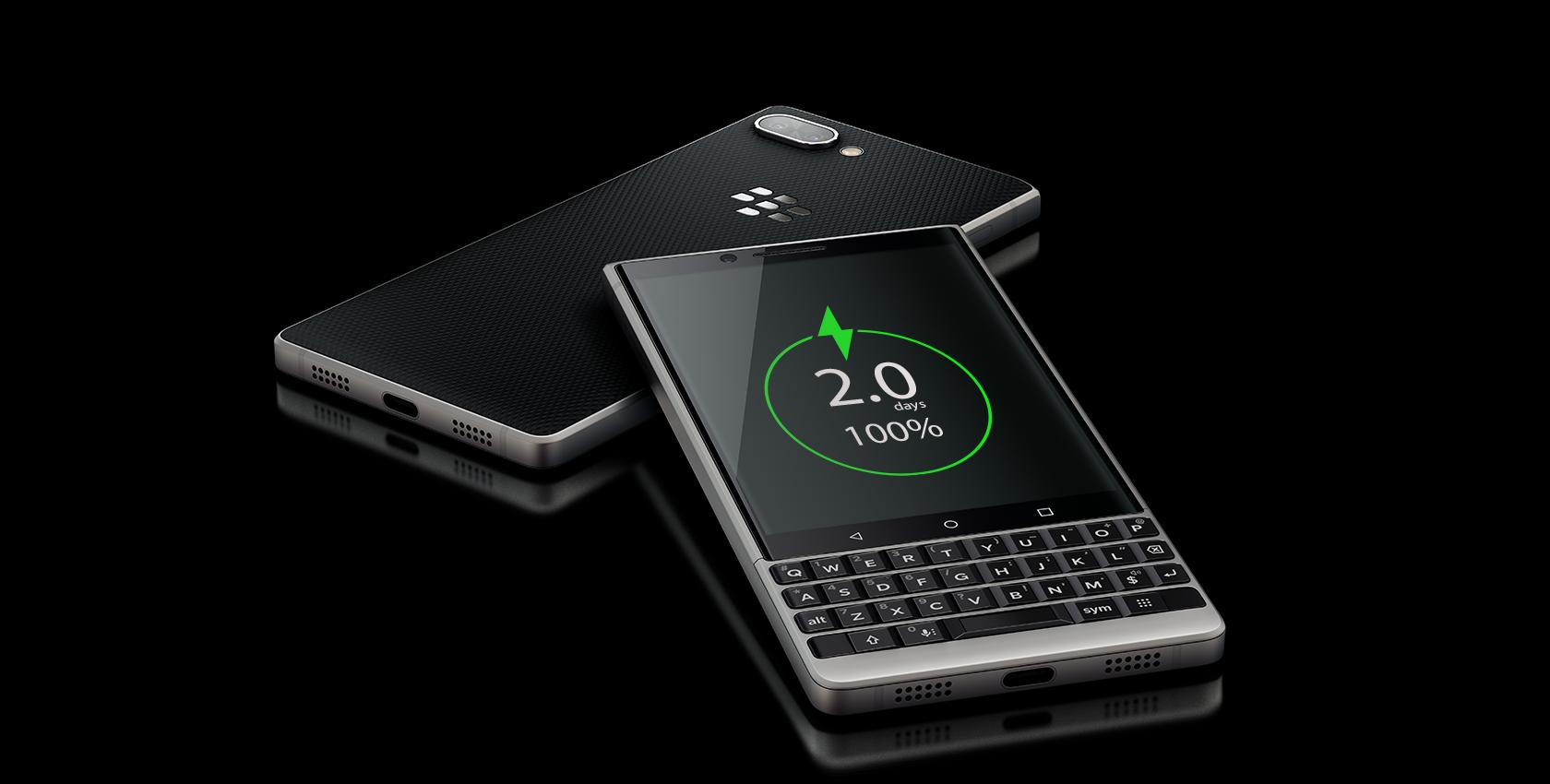charge desktop1 - BlackBerry KEY2