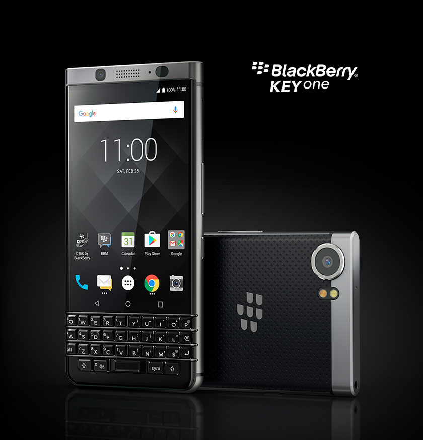 Keyone Silver - BlackBerry KEYone