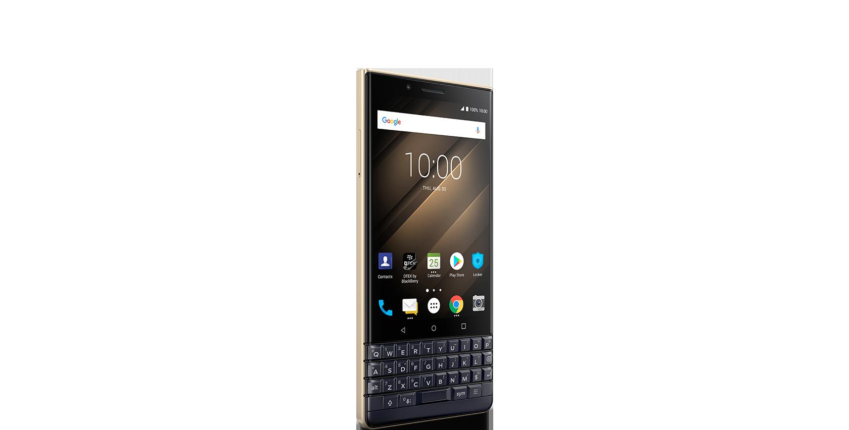 key 2 le champagne - BlackBerry KEY 2 LE