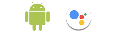 mobile android and google logo - BlackBerry KEY 2 LE