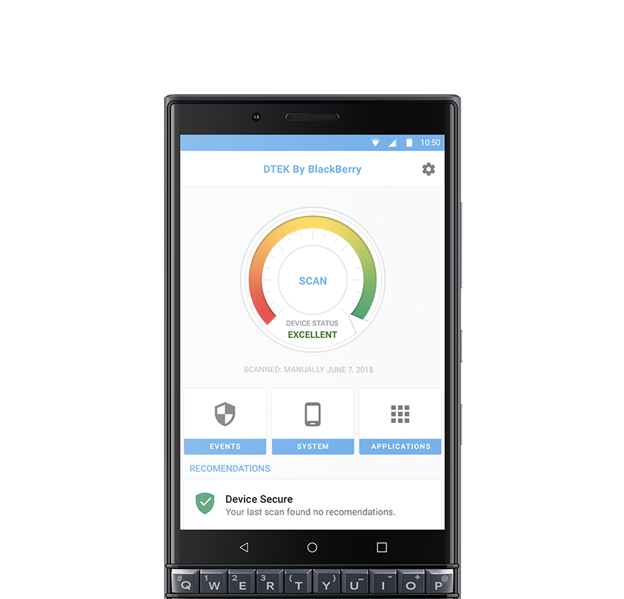 dtek mb - BlackBerry KEY 2 LE