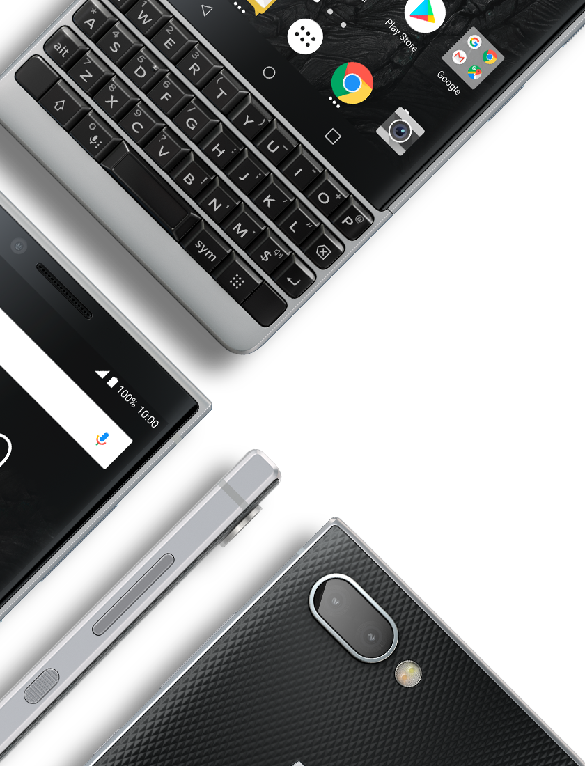 iconic design multi - BlackBerry KEY2
